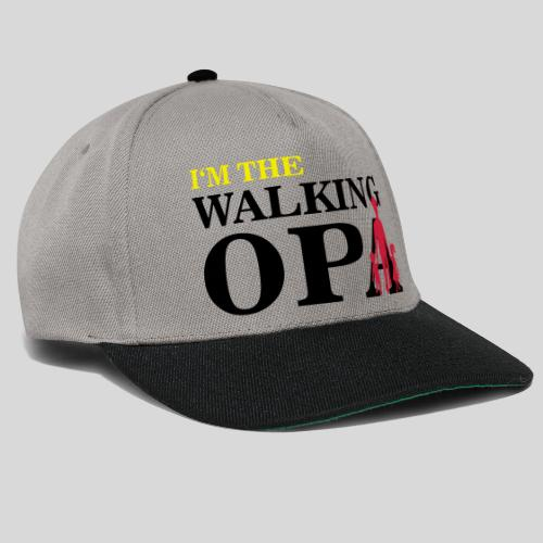 The Walking Opa - Snapback Cap