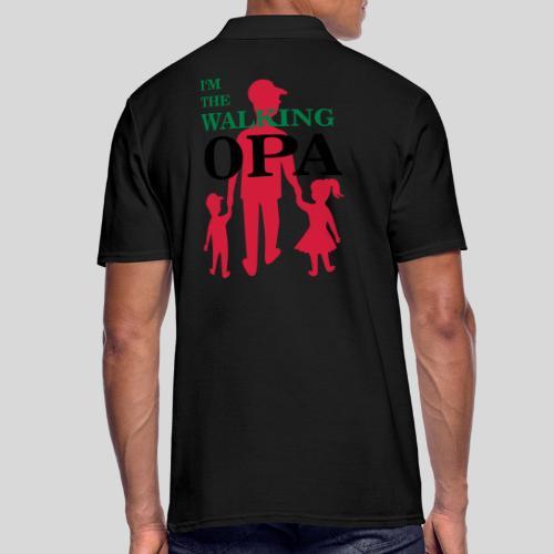 The Walking Opa - Männer Poloshirt