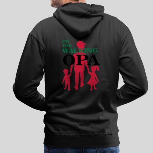 The Walking Opa - Männer Premium Hoodie