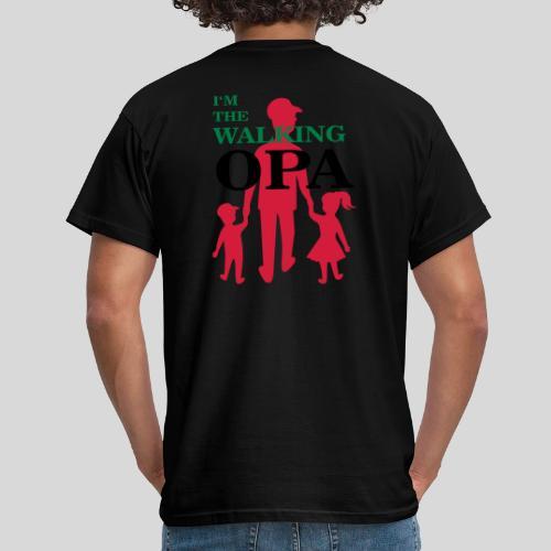 The Walking Opa - Männer T-Shirt