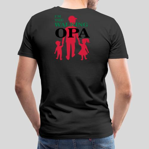 The Walking Opa - Männer Premium T-Shirt