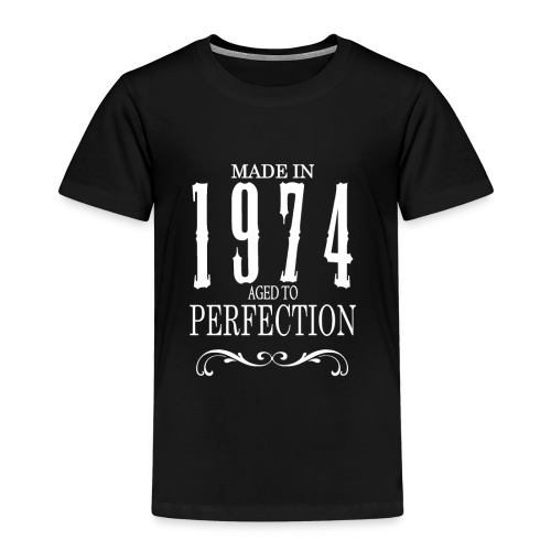 Made in 1974 - Aged to Perfection - Børne premium T-shirt