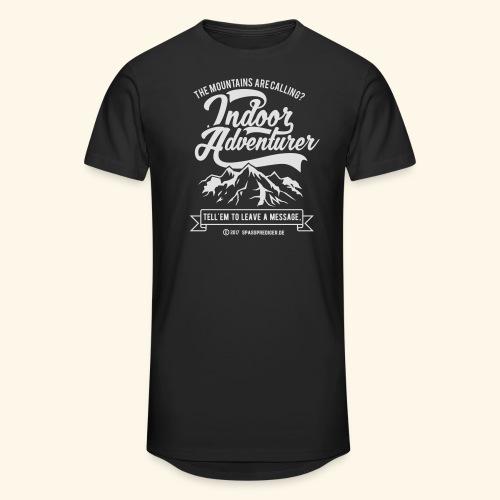 The mountains are calling - Männer Urban Longshirt