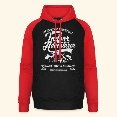 The mountains are calling - Unisex Baseball Hoodie