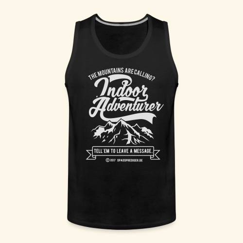 The mountains are calling - Männer Premium Tank Top