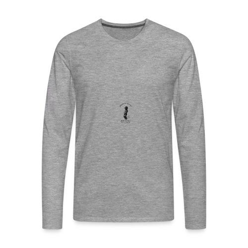 Gourde Manneken pis Real Watter Bottles  - T-shirt manches longues Premium Homme