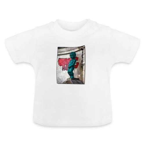 mannekenpis Big Tag 小便小僧 - T-shirt Bébé