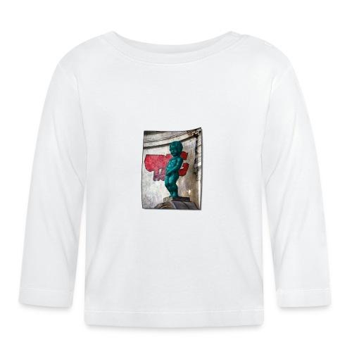 mannekenpis Big Tag 小便小僧 - T-shirt manches longues Bébé