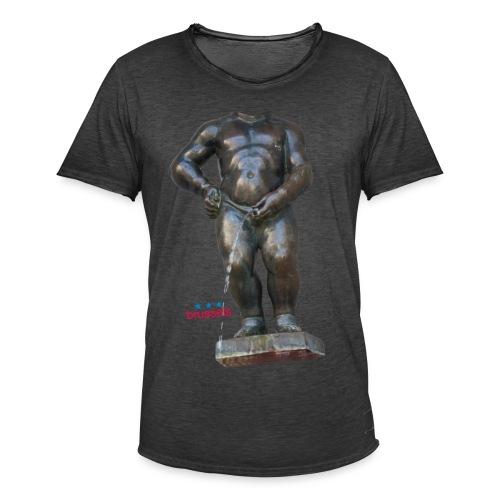 mannekenpis Big Real 小便小僧 2017 - T-shirt vintage Homme