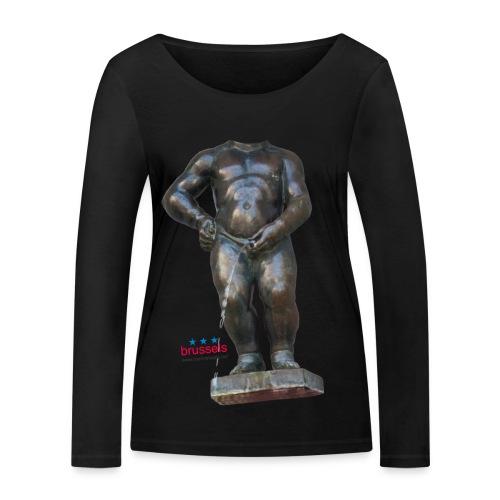 mannekenpis Big Real 小便小僧 2017 - T-shirt manches longues bio Stanley & Stella Femme
