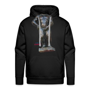 mannekenpis Big Real 小便小僧 2017 - Sweat-shirt à capuche Premium pour hommes