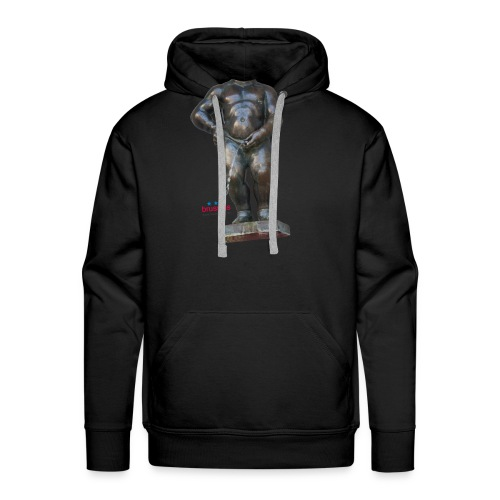 REAL BiG mannekenpis |♀♂ - Sweat-shirt à capuche Premium pour hommes