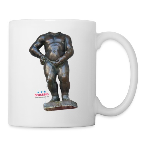 mannekenpis Big Real 小便小僧 2017 - Mug blanc