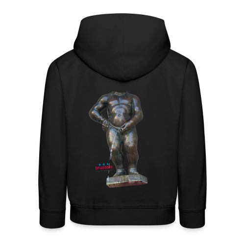mannekenpis Big Real 小便小僧 2017 - Pull à capuche Premium Enfant