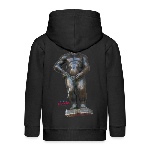 mannekenpis Big Real 小便小僧 2017 - Veste à capuche Premium Enfant