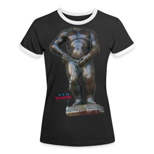 mannekenpis Big Real 小便小僧 2017 - T-shirt contrasté Femme