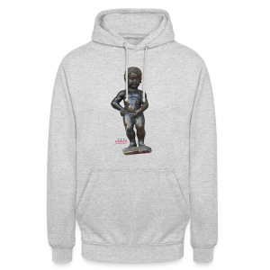 mannekenpis Real 小便小僧 2017 - Sweat-shirt à capuche unisexe