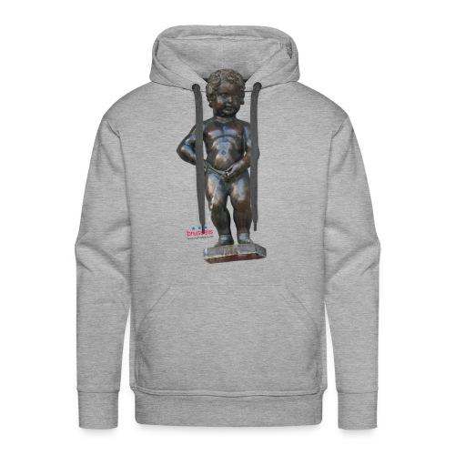 mannekenpis Real 小便小僧 2017 - Sweat-shirt à capuche Premium pour hommes