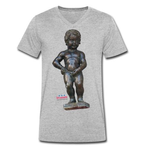 mannekenpis Real 小便小僧 2017 - T-shirt bio col V Stanley & Stella Homme