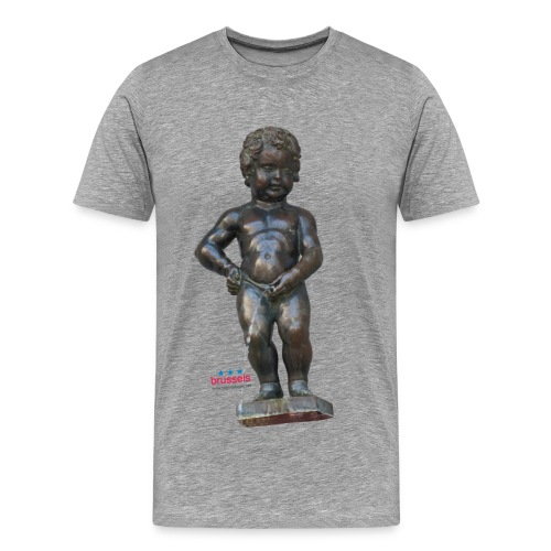 mannekenpis Real 小便小僧 2017 - T-shirt Premium Homme