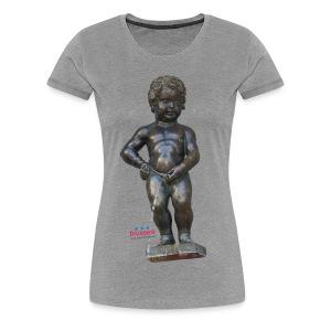 mannekenpis Real 小便小僧 2017 - T-shirt Premium Femme