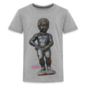 mannekenpis Real 小便小僧 2017 - T-shirt Premium Ado