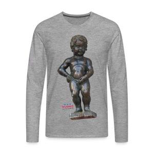 mannekenpis Real 小便小僧 2017 - T-shirt manches longues Premium Homme