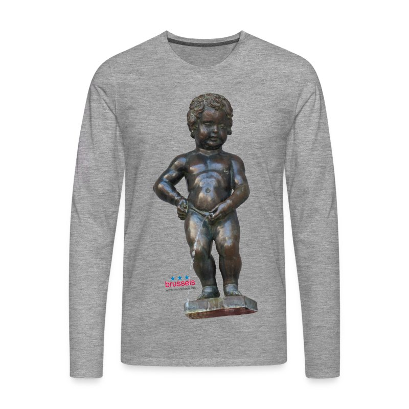 mannekenpis Real 小便小僧 2017 - T-shirt manches longues Premium Homme
