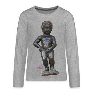 mannekenpis Real 小便小僧 2017 - T-shirt manches longues Premium Ado