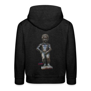 mannekenpis Big Real 小便小僧  - Pull à capuche Premium Enfant
