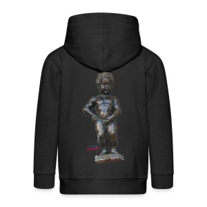mannekenpis Big Real 小便小僧  - Veste à capuche Premium Enfant