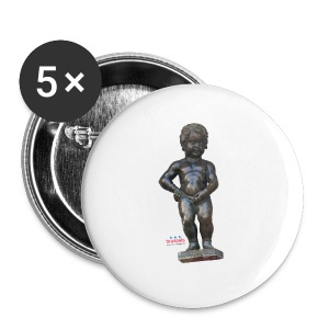 mannekenpis Big Real マヌカンピス - Badge grand 56 mm