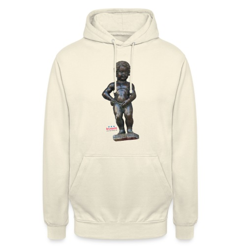 mannekenpis Big Real 小便小僧  - Sweat-shirt à capuche unisexe