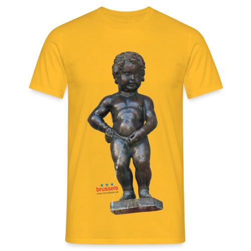 mannekenpis Big Real 小便小僧  - T-shirt Homme