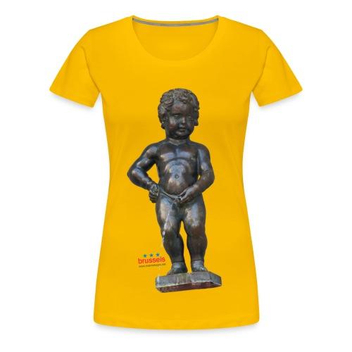 mannekenpis Big Real 小便小僧  - T-shirt Premium Femme