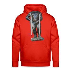BIG MAN · 撒尿小童 T恤 - Sweat-shirt à capuche Premium pour hommes