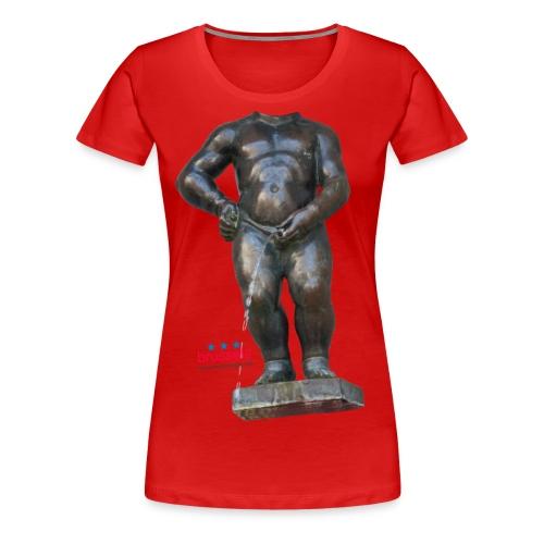 BIG MAN · 撒尿小童 T恤 - T-shirt Premium Femme