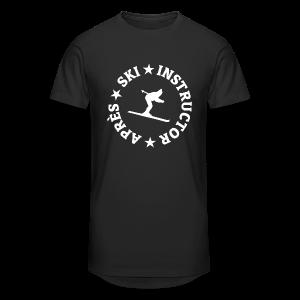 Après-Ski Instructor T-Shirt - Männer Urban Longshirt