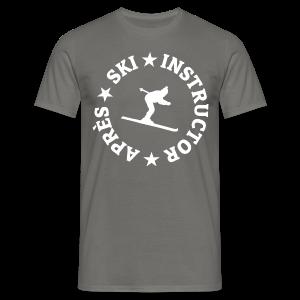 Après-Ski Instructor T-Shirt - Männer T-Shirt