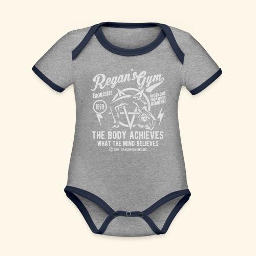 Regan's Gym - Baby Bio-Kurzarm-Kontrastbody