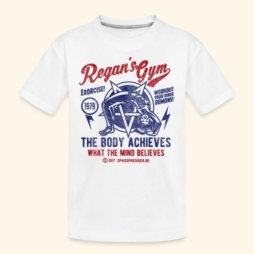 Regan's Gym - Teenager Premium Bio T-Shirt