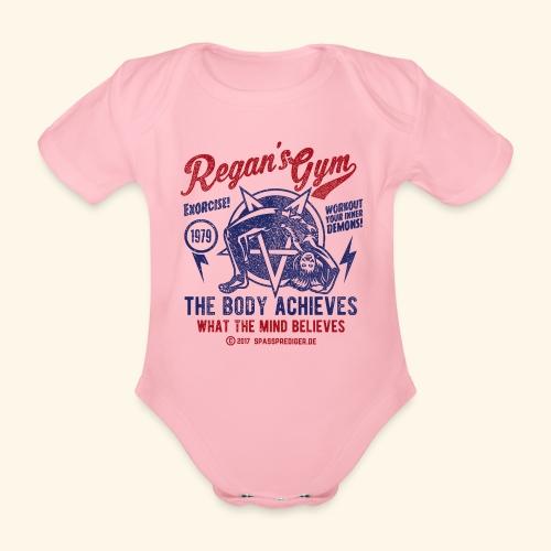 Regan's Gym - Baby Bio-Kurzarm-Body