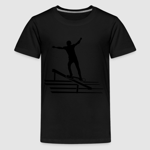 Skater-Tank Top - Teenager Premium T-Shirt