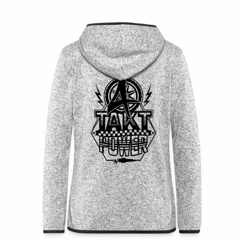 4-Takt-Power / Viertaktpower - Women's Hooded Fleece Jacket