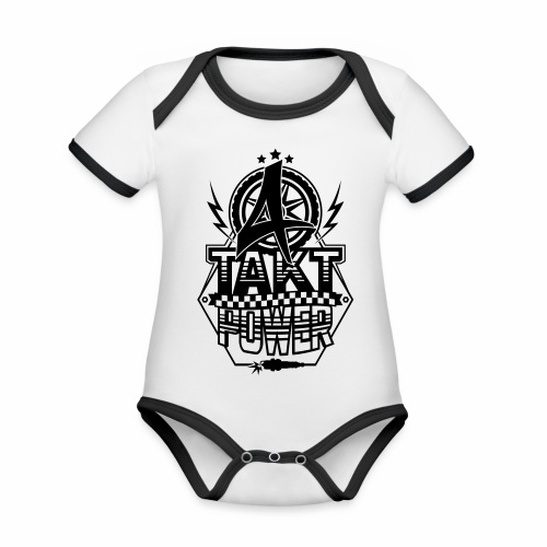4-Takt-Power / Viertaktpower - Organic Baby Contrasting Bodysuit