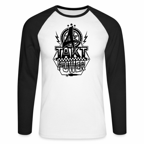 4-Takt-Power / Viertaktpower - Men's Long Sleeve Baseball T-Shirt