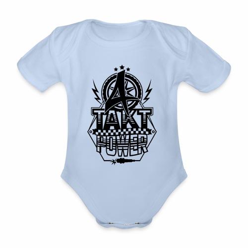 4-Takt-Power / Viertaktpower - Organic Short-sleeved Baby Bodysuit