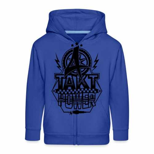 4-Takt-Power / Viertaktpower - Kids' Premium Zip Hoodie