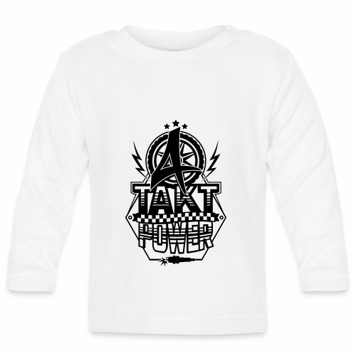 4-Takt-Power / Viertaktpower - Baby Long Sleeve T-Shirt