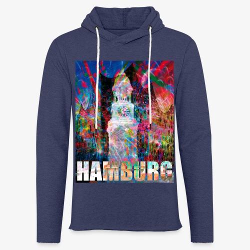 Elphi & Michel Hamburg Elbphilharmonie Männer T-Shirt - Leichtes Kapuzensweatshirt Unisex